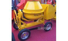 Diesel Mobile Concrete Mixer