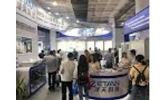 Zetian is participating in the environmental monitoring exhibitions all those years