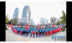 Zetian People has a 12km Long Journey Walk On 7th November - Video
