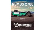 Nemus 2700 Hydraulic Drum Screen - Brochure