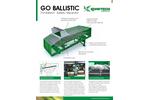 Go Ballistic - The Ballistor - Ballistic Separator  - Brochure