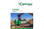 Crambo - Low Speed, High Torque, Dual Shaft Shredder – Brochure