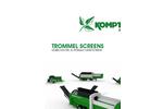 Trommel Screens - Mobile Electric & Hydraulic Drum Screens - Brochure