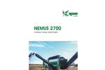 Nemus 2700 Hydraulic Mobile Drum Screen - Brochure
