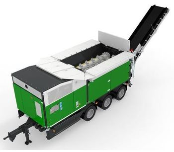Komptech Crambo - Dual-Shaft Shredder for Wood and Green Waste