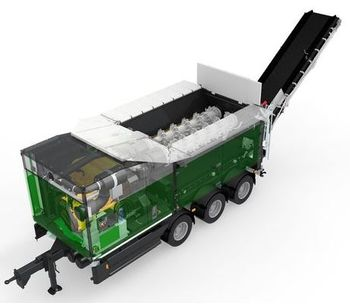 Komptech Crambo Direct - Dual-Shaft Shredder for Wood and Green Waste