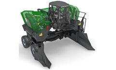 Komptech Topturn - Model X5000 - Compost Turner for Triangular Windrows