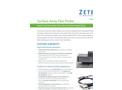 Zetec Surface Array Flex Probe Datasheet