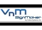 SignMaker - Model VnM8 - Industrial Label and Sign Printer