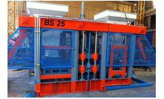 Betonsen - Model BS25 - Concrete Paver and Block Making Machine