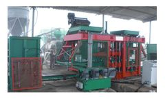 Betonsen - Model BS30 - Full Automatic Concrete Paver and Block Making Machine