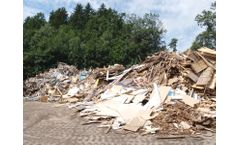 Multi-Purpose Industrial Shredder for Waste Wood, Roots