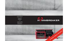 Hammbreaker - Model NH Metal & Stone - Two-Shaft Shredder - Brochure