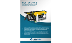 Hoytek Lyra - Model S - Light Work Class ROV System Brochure