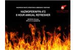 8 Hour Hazwoper Training Courses Brochure