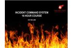 16 Hour Incident Command Courses Brochure