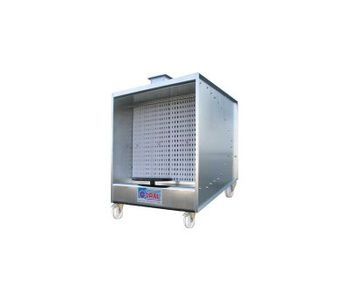 Minispray - Trolley Mounted Dry Paint Booths