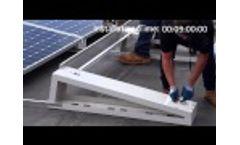 Solar Mounting Solutions Solar Rack Installation - Video