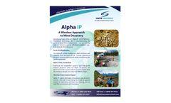 Model Alpha IP - Wireless Time Domain Distributed Technology - Datasheet