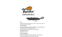 Tigerfloc - Flocculant Belts Brochure