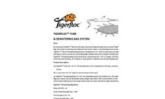 Tigerfloc - Tube & Dewatering Bag System Brochure