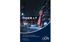 Ion Tiger - Model LT - Entry-Level Handheld, Portable VOC Gas Detector - Brochure