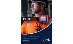 Cub - Personal VOC Gas Detector - Brochure