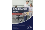 ION - Standard Calibrated Leaks - Brochure