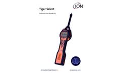 Tiger Select Handheld Benzene Detector V3.1 - User Manual