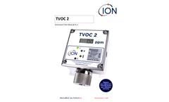 ION TVOC - Model 2 - Fixed PID Detector - User Manual