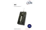 Ion - Model MVI - Portable Mercury Vapour Indicator - User Manual