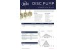 Ion Science - Model BL Series BL-S2-012 / BL-P2-013 - Disc Pump - Datasheet