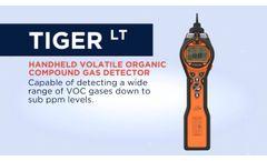 Tiger LT - Portable VOC Gas Detector UK - Video