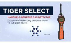 Tiger Select - Portable Benzene Gas Detector - Video