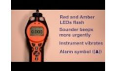 How to Select Gases and Alarms on Tiger Handheld VOC Detectors Video