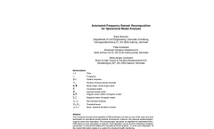 Frequency Domain Decomposition Software Brochure