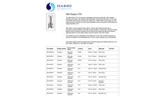 SBE - Model 911plus - CTD Sensor for Primary Oceanographic Research Tool - Brochure