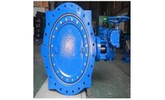 Model DN800 Eccentric Type - Flange Butterfly Valve