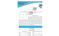 Constant Monitoring System: Model CMS 600 Specifications - Brochure