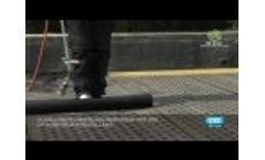 Installation of a Waterproofing System Video