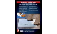 Cleanline - Sticky Mats - Brochure