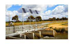 Ultrasonic sensors for water monitoring applications
