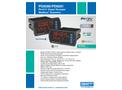 Model PD6080/PD6081 - Display for Ultrasonic Sensors - Datasheet