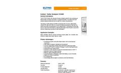 Elementrac - Model CS-i - Carbon / Sulfur Analyzer - Brochure