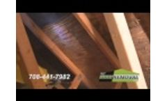 MMR Mold Stain Remover for Attic Mold Remediation - Video