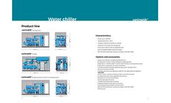 varimatik - Mono Compressor Water Condensed Chiller Brochure