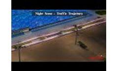 Night Scene-Traffic Trajectory Video