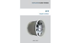 Ventilator - Model AV - Axial Fans Brochure