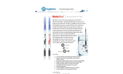 WaterShot - Water Test Devices Brochure