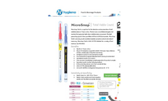 Hygiena - Total Viable Count Devices Brochure